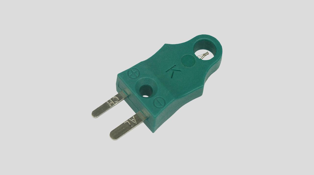 Kompakter Luftfühler NiCr-Ni, Typ K, Grün
