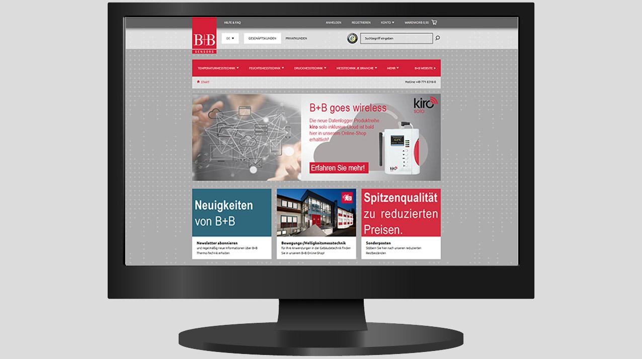B+B Bietet Umfangreiches Sortiment Im Online-Shop An