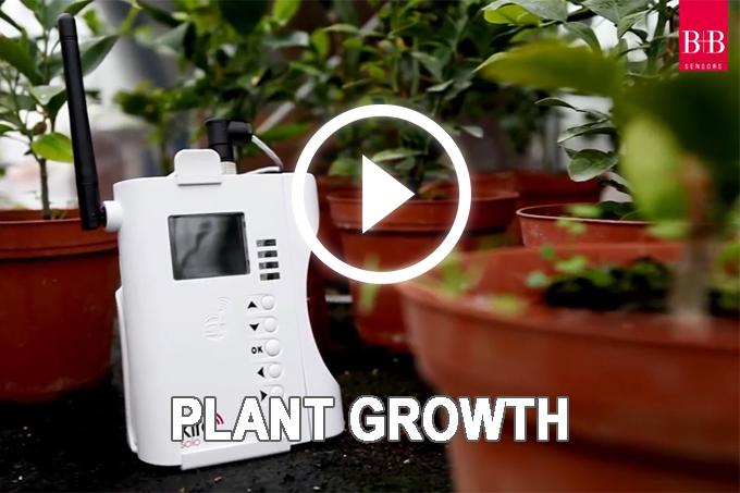 Pflanzenwachstum Kabellos überwachen – Das Kiro Anwendungsvideo Pflanzenwachstum