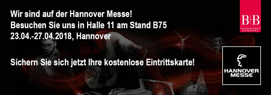 Wir Sind Auf Der Hannover Messe 2018