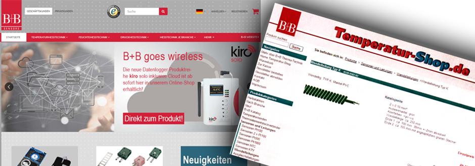 B+B Online-Shop