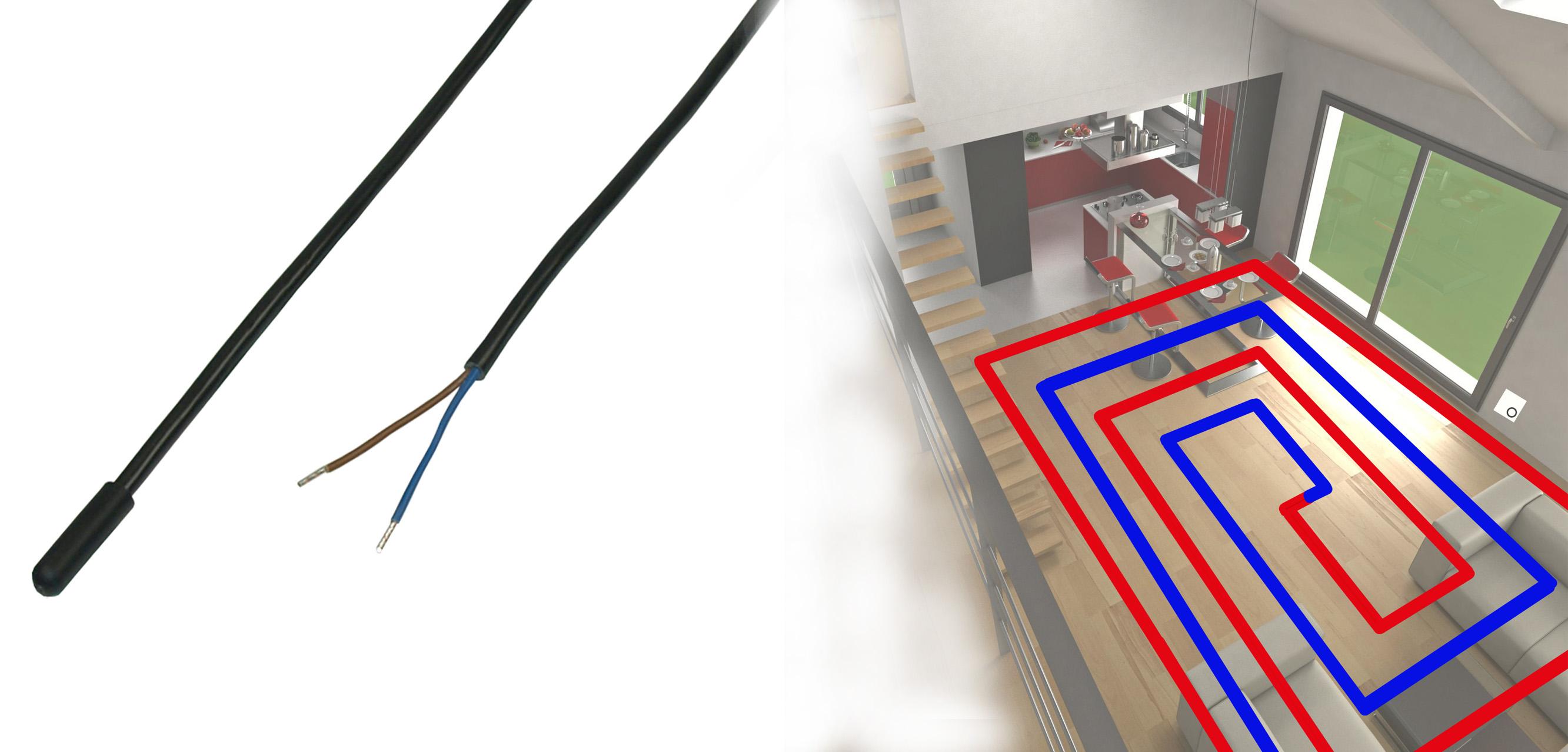 Der B+B Fußbodentemperaturfühler – Ein Allroundtalent Für Ihre Fußbodenheizung