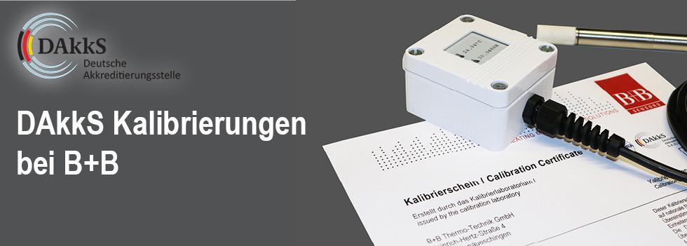 B+B Thermo-Technik GmbH Erhält DAkkS Akkreditierung Für Kalibrierlaboratorium