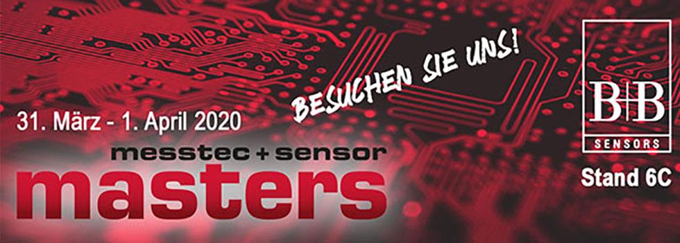 Wir Sind Auf Der Messtec + Sensor Masters 2020